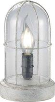 Trio Lighting BIRTE - Tafellamp - E14 fitting, 40W max - Antiek grijs