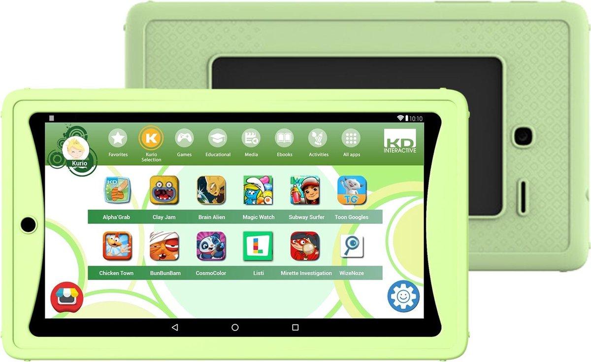 Kurio Tab Lite – 7 inch – Kindertablet – 8GB – Groen