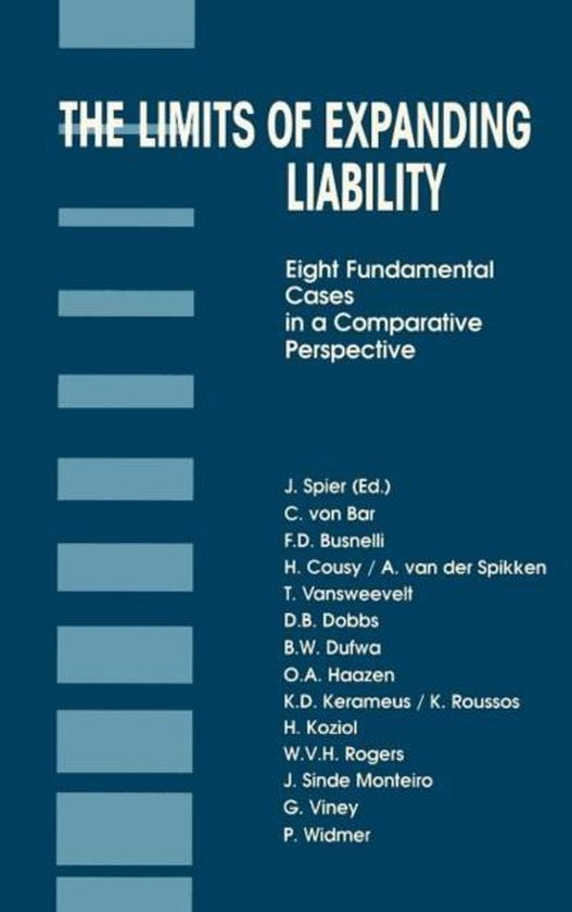 Afbeelding van The Limits of Expanding Liability