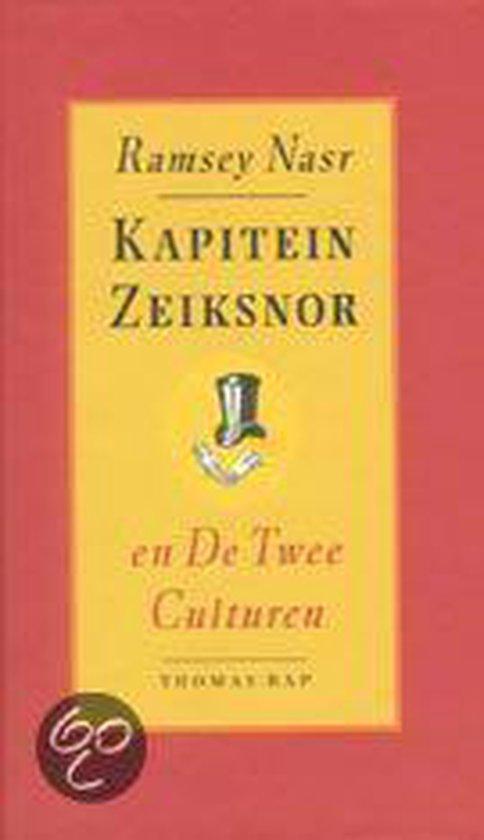 Boek cover Kapitein Zeiksnor & De Twee Culturen van Ramsey Nasr (Hardcover)
