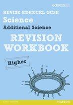 Omslag Revise Edexcel: Edexcel GCSE Additional Science Revision Workbook - Higher