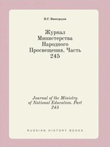 Journal of the Ministry of National Education. Part 245