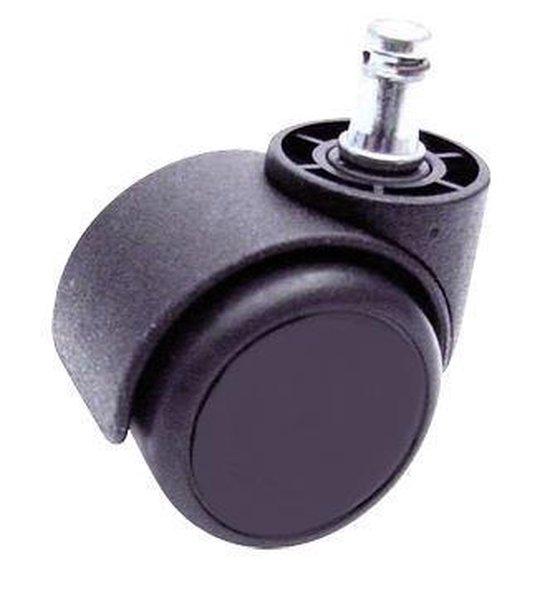 Novicum Vita Comfort zadelkruk kappersfiets met rugleuning zwart, groot zadel en medium gasveer zadelstoel kapperskruk - Novicum®