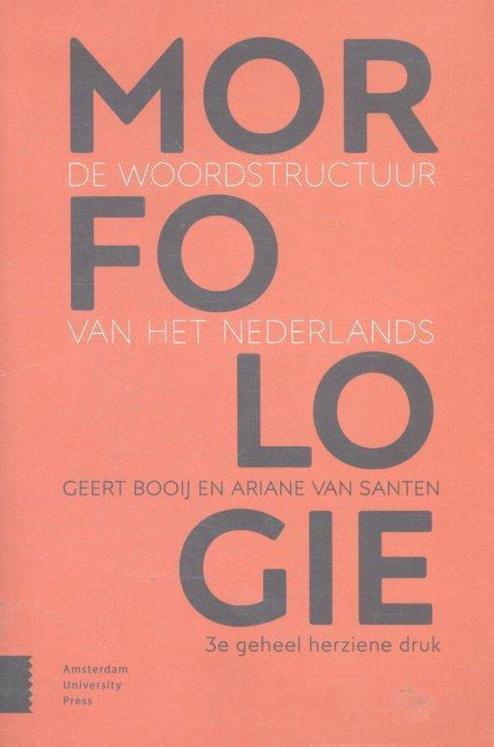 Morfologie - Geert Booij |