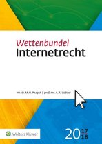 Wettenbundel Internetrecht 2017-2018