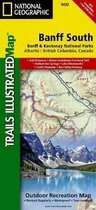 National Geographic Trails Illustrated Map Banff South Banff and Kootenay National Parks Alberta British Columbia