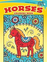 SPARK -- Horses Coloring Book
