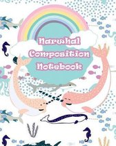 Narwhal Composition Notebook