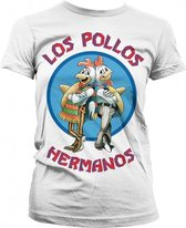 Breaking Bad Los Pollos dames shirt wit M
