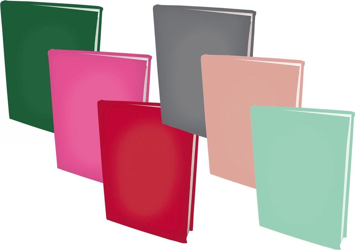 Benza Rekbare Boekenkaften Meisjes Pakket (6 stuks) - Benza