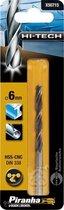 Piranha HI-TECH metaalboor 6mm X50715