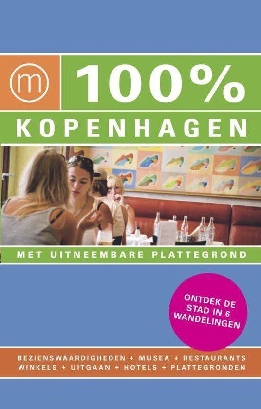 Cover van het boek '100% Kopenhagen' van M. Wijnmaalen