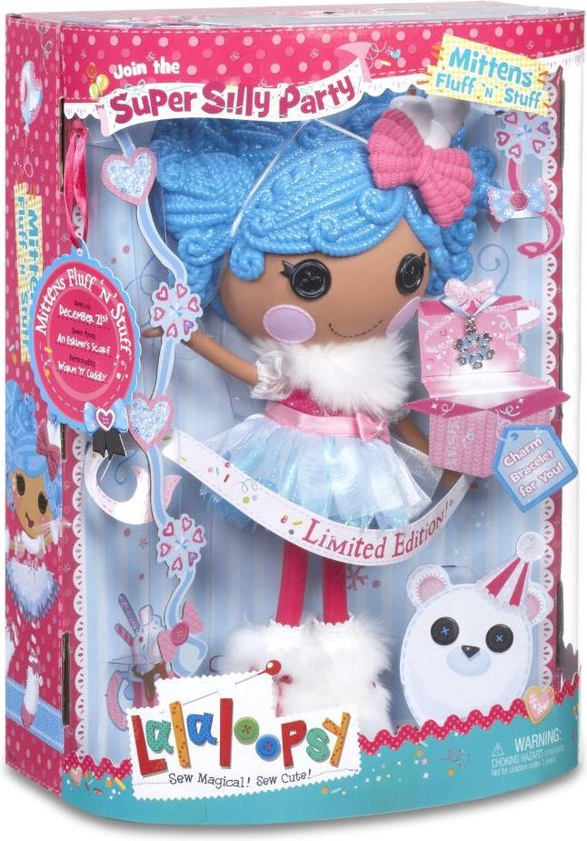 Lalaloopsy Super Silly Party Doll- Mittens Fluff