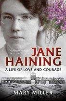 Boek cover Jane Haining van Mary Miller