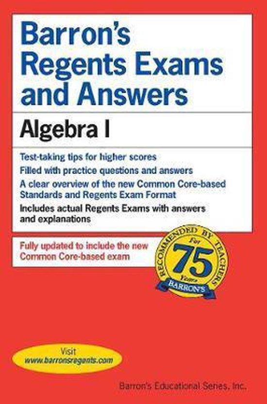 Afbeelding van Regents Exams and Answers