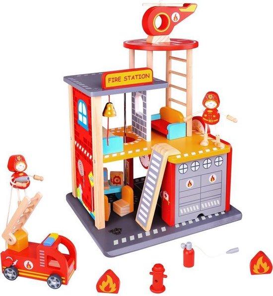 Afbeelding van Brandweerkazerne speelgoed