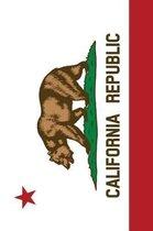 California Flag Sketchbook