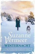 Boek cover Winternacht van Suzanne Vermeer