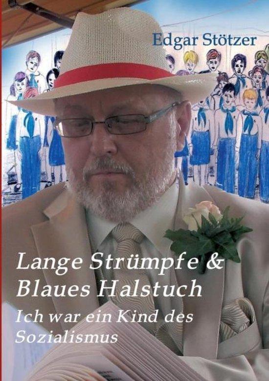 Lange Str mpfe & Blaues Halstuch
