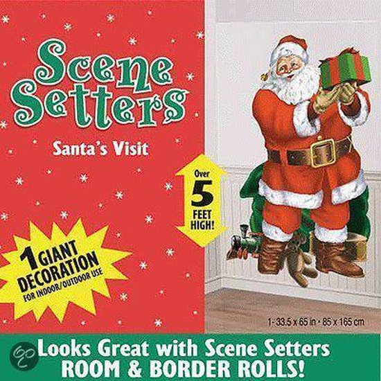Scenesetter kerstman