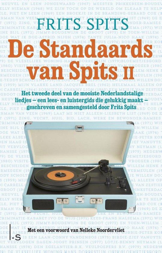 Boek cover De standaards van Spits van Frits Spits (Onbekend)