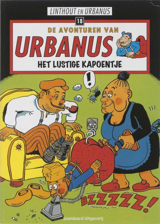 Urbanus 18 Het lustige kapoentje - Willy Linthout |