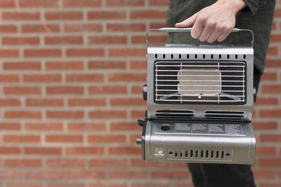 MacGyver Draagbare Gaskachel | Buitenkachel | Heater | Kacheltje | Terrasverwarming