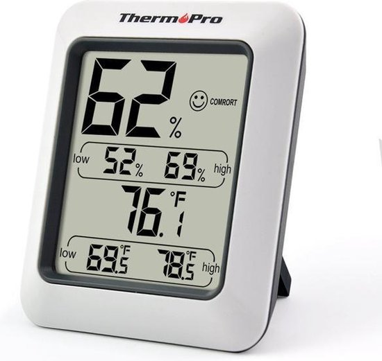 ThermoPro TP50 Hygrometer Digitaal