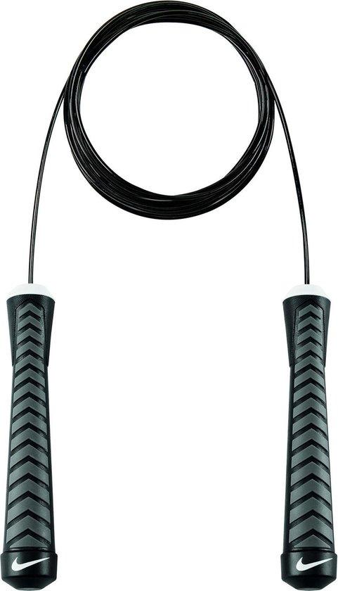 Nike Intensity Speed Rope Springtouw Unisex - Bla/Gre/Whi