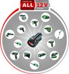 Bosch Power for All Lithium-Ion accu / batterij - 12 V 2,5 Ah