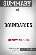 Summary of Boundaries by Henry Cloud