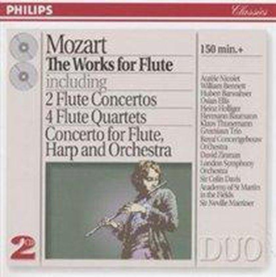 Mozart: The Works for Flute / Nicolet, Bennett, Barwahser