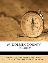 Middlesex County Records