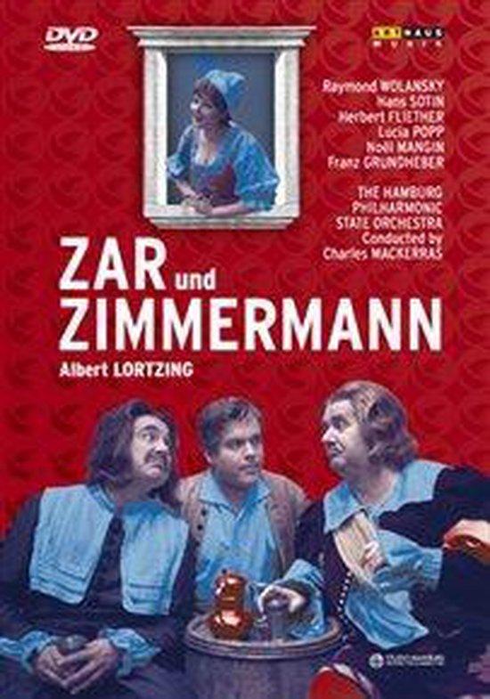Cover van de film 'Albert Lortzing - Zar & Zimmermann'