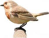 Houten vogel - Roodborst