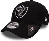 New Era Cap 9FORTY Oakland Raiders NFL - One Size - Black/Silver