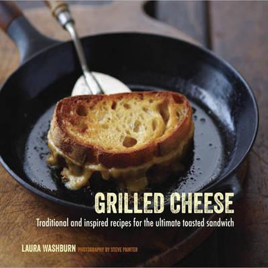 Boek cover Grilled Cheese van Laura Washburn Hutton (Hardcover)