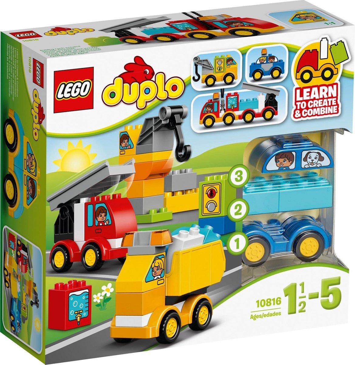 LEGO DUPLO Mijn Eerste Wagens en Trucks - 10816 - LEGO