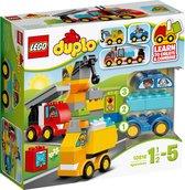 Afbeelding van LEGO DUPLO Mijn Eerste Wagens en Trucks - 10816