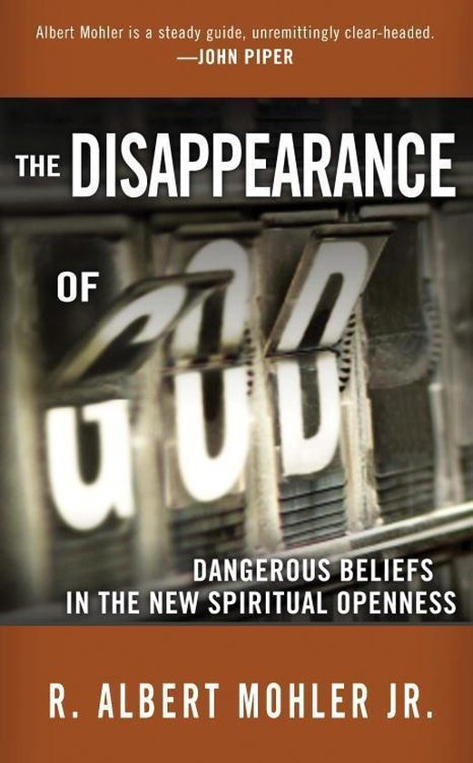 Omslag van The Disappearance of God