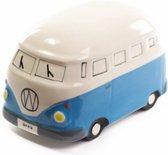 Spaarpot Keramiek Autobus Blauw