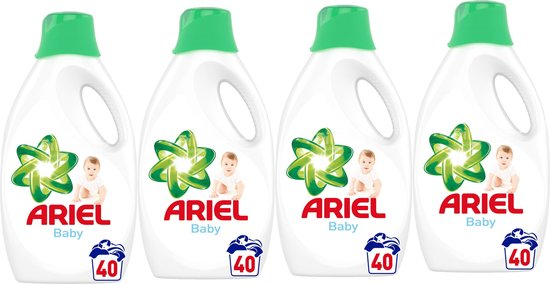 Ariel - Vloeibaar Wasmiddel - Baby - 4 x 2,2 L (160 wasbeurten) - Voordeelverpakking