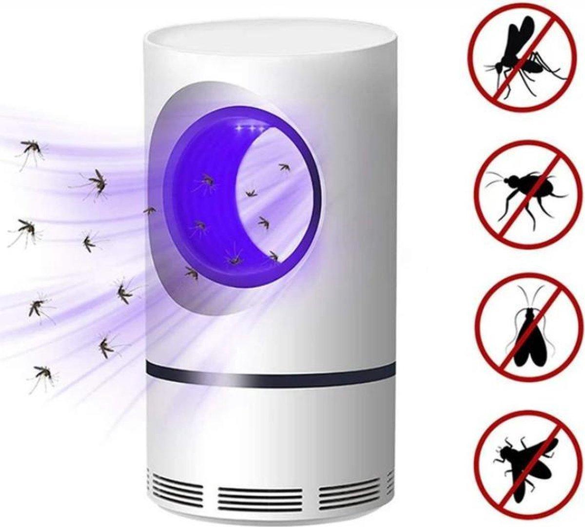 Muggenvanger - Insectenlamp - mosquito killer - stil - uv lamp - 5m bereik - geen last van vliegen o