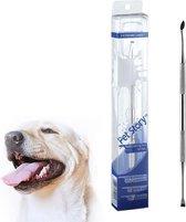Tandenkrabber - Tandsteen Verwijderaar - Hond - Kat - Huisdier - Tandreiniging voor hond en kat - RVS