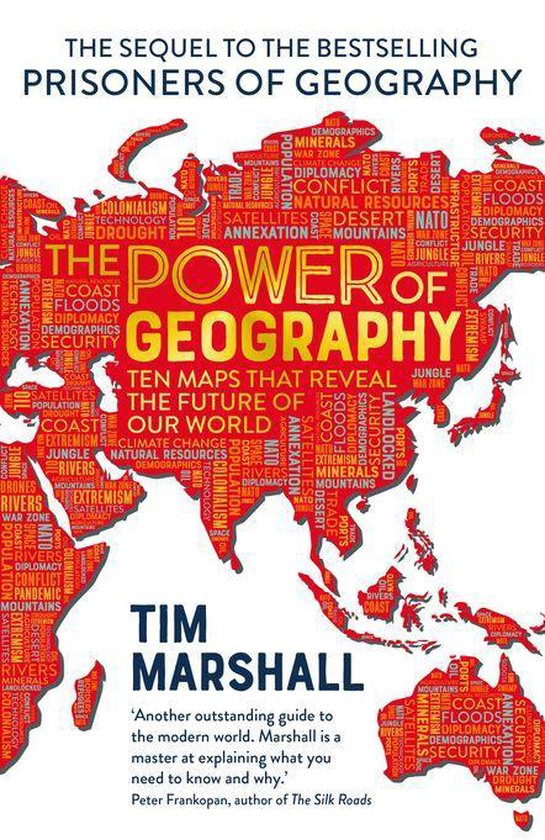 Boek cover The Power of Geography van Tim Marshall (Onbekend)