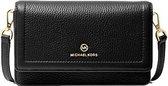 Michael Kors Sm Phone Crossbody Dames Tas - Zwart
