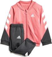 adidas adidas I MM XFG Trainingspak - Maat 104  - Unisex - roze - zwart - wit
