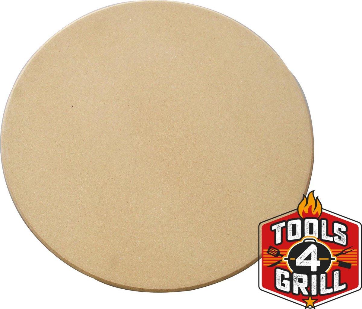 Tools4grill pizzasteen XL 36 CM 1,2CM dik