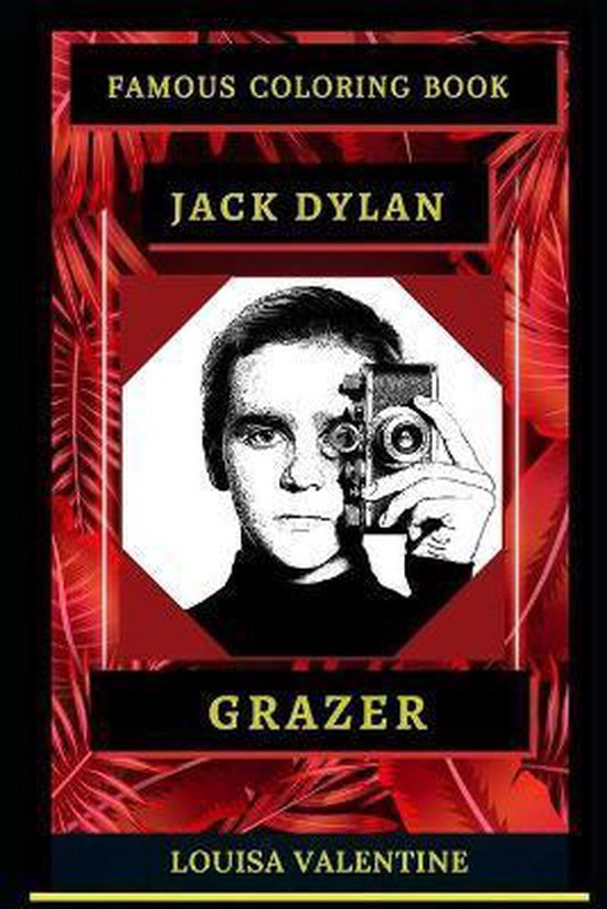 Jack Dylan Grazer Famous Coloring Book