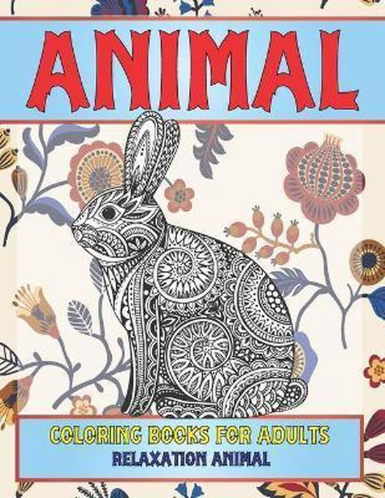 Animal Coloring Books for Adults Relaxation Animal